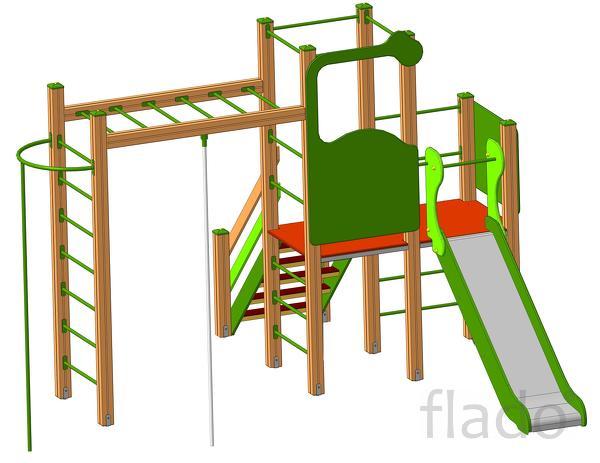 Детские игровые и спортивные комплексы от производителя