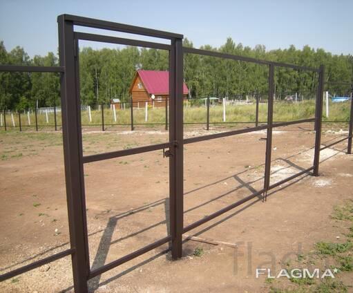 Металлические ворота и калитки с доставкой