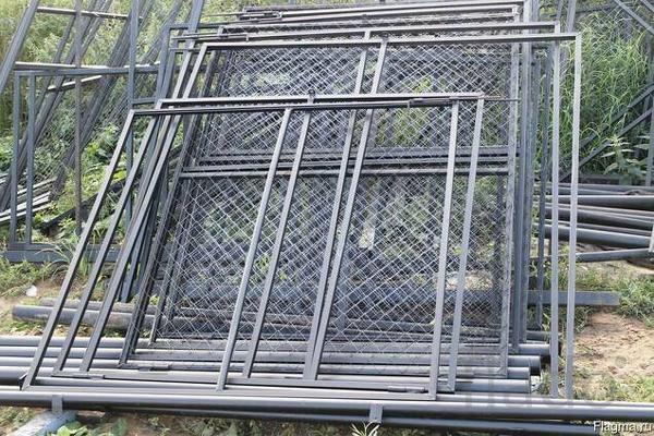 Садовые металлические ворота/калитки. Низкие цены.