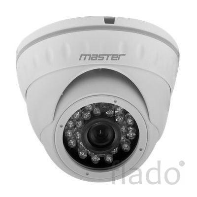 Master MR-HDNM1080WU — купольная гибридная камера видеонаблюдения