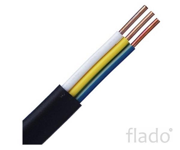 Кабель ВВГ-П 3х1,5 ож -0,66 кабель ВВГ силовой