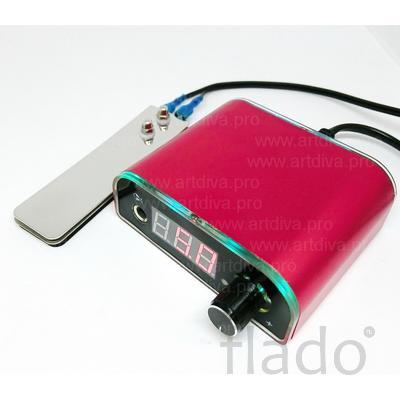 Блок управления Power Red для перманентных и тату машинок