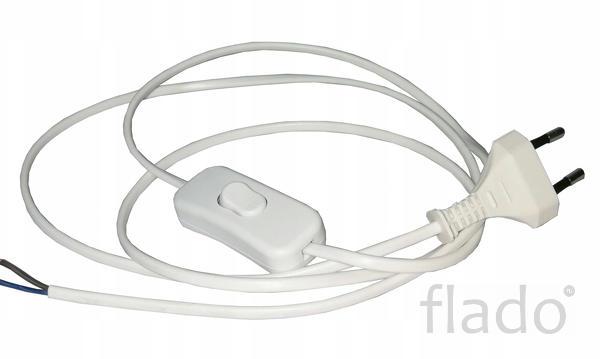 Сетевой шнур с выключателем и вилкой -38 шт