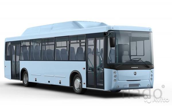 Пригородный автобус нефаз 5299-11-56 метан