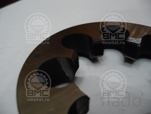Плашка М75х1,5, диаметр резьбы