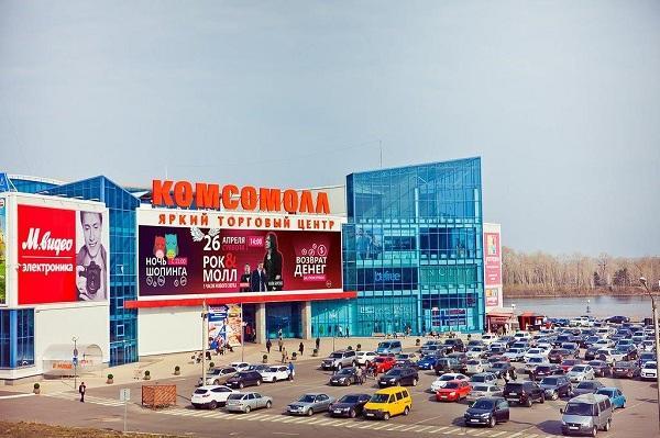 Торговое помещение в ТРК «Комсомолл» (г. Красноярск)