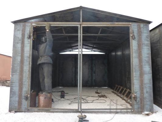 Металлические гаражи. Изготовление, монтаж