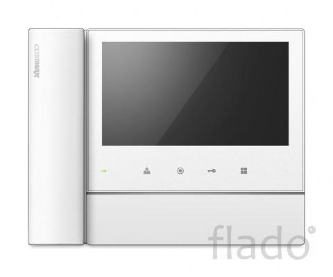 Commax cdv-70nm белый 7″ цветной cvbs видеодомофон