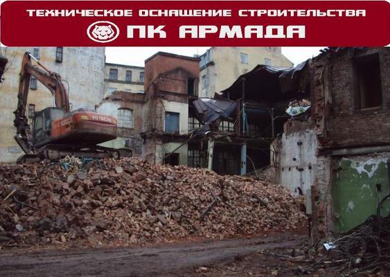Демонтаж зданий и сооружений в Уфе
