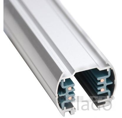 Шинопровод 3-хфазный алюм. 1м хром nlco