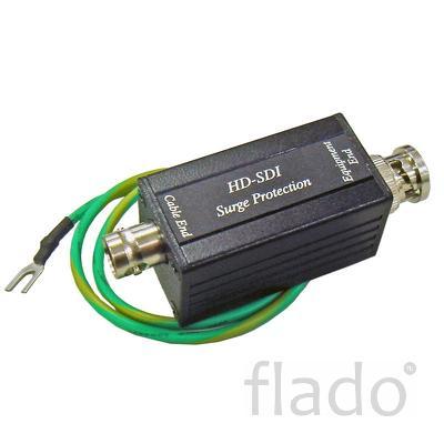 Sp007 (hd-sdi) устройство грозозащиты цепей видео
