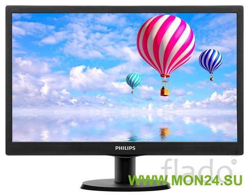 Philips 223v5lsb2 (10/62) 21.5″ черный монитор