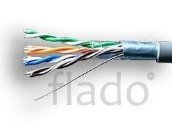 F/utp 4pair, cat.5e, in, pvc, standard (01-1031) кабель «витая пара» (