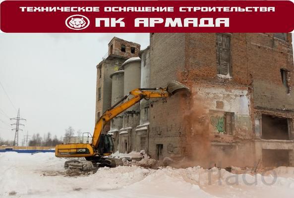 Слом, снос, демонтаж, разбор зданий, сооружений, строений