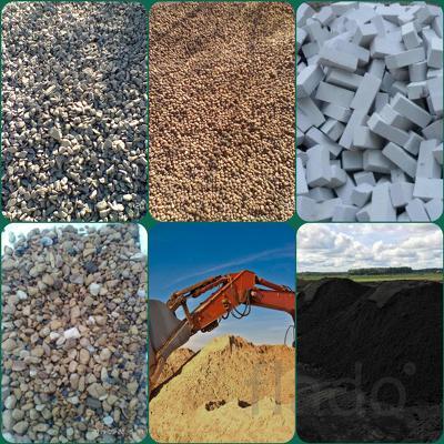 Щебень 5-20,20-40,керамзит,кирпич,песок,навоз