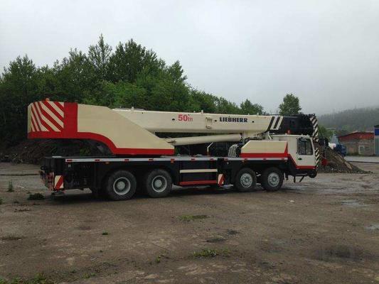 Услуги автокрана 55 тонн, Южно-Сахалинск
