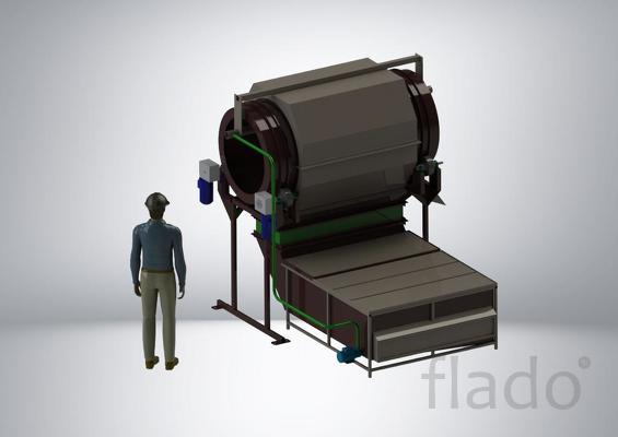Оборудования по переработки пластмасс, фрикционные мойки