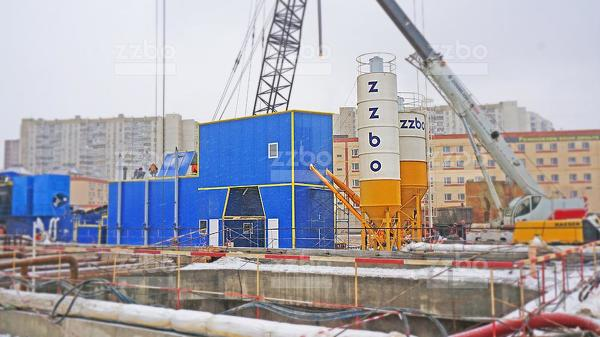 Бетонный завод ЗЗБО ФЛАГМАН-45