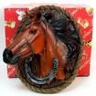 Настенное панно Лошадь и подкова это подарок с пожеланием счастья