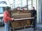 Перевозка пианино.Профессиональные грузчики