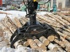 Захват для леса - Грейфер для бревен, для леса, пиломатериалов.