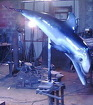 "Скульптура из металла""Дельфин"""