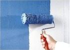 Покраска стен, потолков, рогожки.