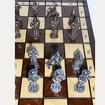 Шахматы металлические Мушкетёры короля и гвардейцы кардинала 39 см.