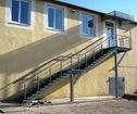 Пожарная лестница маршевая для детского сада и школы