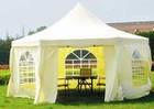 Тентовые шатры для летнего кафе