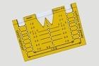 Мебельный шаблон для ручек МШ-05