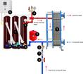 Модуль горячего водоснабжения типа ВИН-ГВС-Т