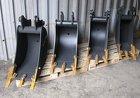 Ковш шириной 450 мм для экскаватора-погрузчика