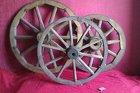колесо от телеги деревянное настоящее