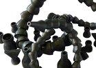 Шарнирные трубки подачи сож 660мм.Изготовление.