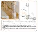 Маршевые лестницы из дерева в Истре, в Московской области, в Москве