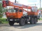 Аренда автокрана вездеход 25 тонн в г. Приморске
