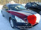 Черный авто Ниссан Теана на свадьбу