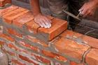 бетонные работы, кладка кирпича