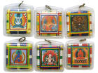 Тибетские обереги с мантрами внутри для машин и нательные.