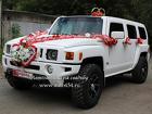 Белый автомобиль Хамер на свадьбу