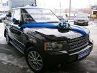 Черный Range Rover Vogue на заказ