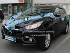 Черная машина для свадьбы Hyundai ix35