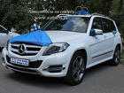 Белый Мерседес прокат на свадьбу, Mercedes-Benz GLK 250
