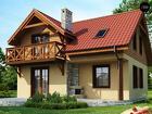 Изготовления и монтаж домов коттеджей бань
