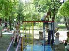 Детский спорткомплекс Адмирал (с горкой и матом)