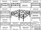 Металлические ритуальные ограды по низкой цене