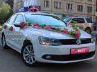 Прокат белого авто на свадьбу - Volkswagen Jetta