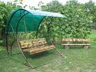 Реализуем садовые качели