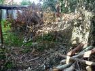 Расчистка участка, спил деревьев, снос дома, фундамента, земляные рабо